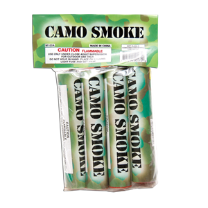 Camo Smoke poly bag