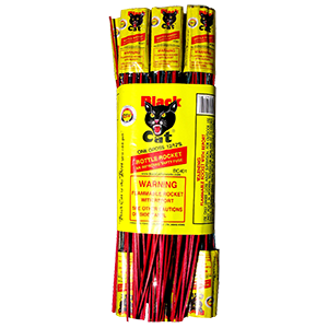 Black Cat Bottle Rocket