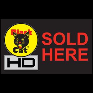 black cat hd sold here flag