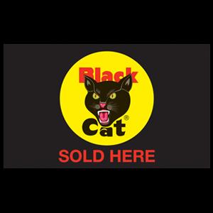black cat sold here black flag