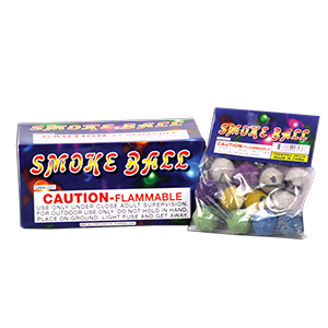 Color Smoke Balls 12 Pack
