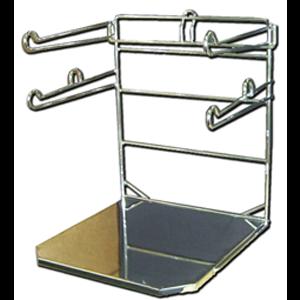 metal bag holder