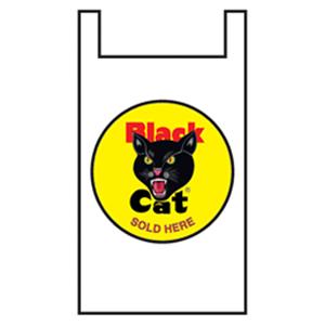 black cat retail bag