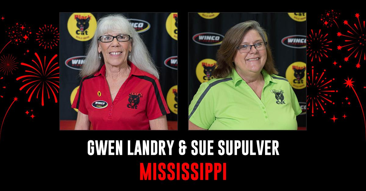 Meet the team gwen and sue