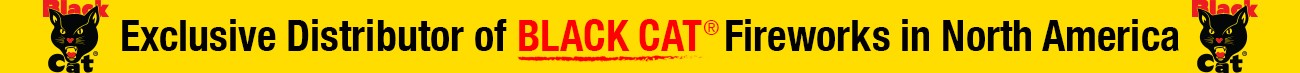 Exclusive Black Cat Fireworks Distributor