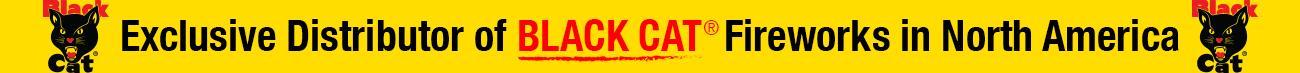 Exclusive Black Cat Fireworks Distributor