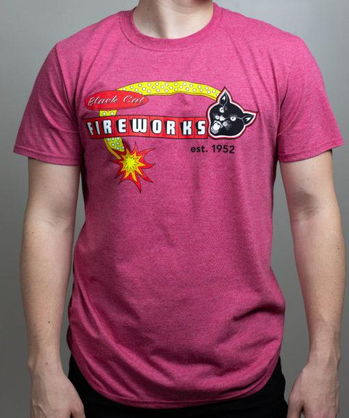Black Cat Retro T-Shirt