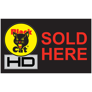 black cat hd sold here flag