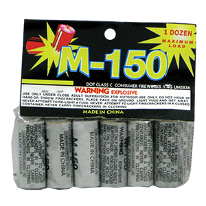 M-150 Salute Silver | Firecrackers-Salutes | Winco Fireworks